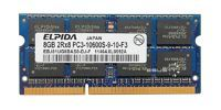 Pamięć RAM1x 8GBELPIDASO-DIMMDDR31333MHzPC3-10600|EBJ81UG8BAS0-DJ-F
