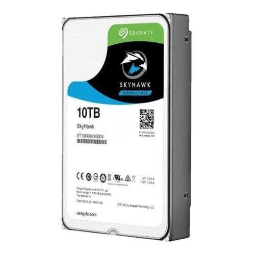 Dysk twardy Seagate SkyHawk 3.5'' HDD 10TB 7200RPM SATA 6Gb/s 256MB | ST10000VX0004