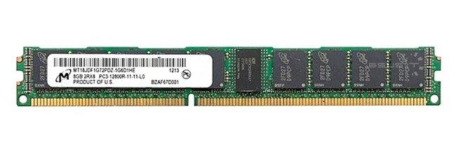 Pamięć RAM 1x 8GB Micron ECC REGISTERED DDR3  1600MHz PC3-12800 RDIMM | MT18JDF1G72PDZ-1G6